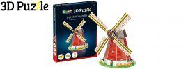 Revell 00110 Holländische Windmühle | 3D-Puzzle | 20 Teile | ab 10 Jahren online kaufen