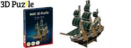 Revell 00115 Piratenschiff | 3D-Puzzle | 24 Teile | ab 10 Jahren online kaufen