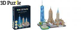 Revell 00142 New York Skyline | 3D-Puzzle | 123 Teile | ab 10 Jahren online kaufen