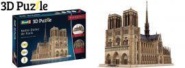 Revell 00190 Notre-Dame de Paris | 3D-Puzzle | 293 Teile | ab 10 Jahren kaufen