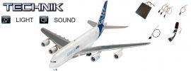 Revell 00453 Airbus A380-800 | Sound + Licht | Flugzeug Bausatz 1:144 online kaufen