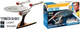 Revell 00454 Star Trek USS Enterprise NCC-1701 | Sound + Licht | Technik Bausatz 1:600 online kaufen