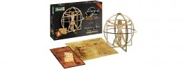 Revell 00519 Vitruv Mann Leonardo da Vinci | Holz Bausatz 1:16 online kaufen