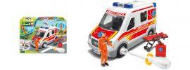 Revell 00824 Rettungswagen mit Figur Junior Kit | Bausatz 1:20 online kaufen