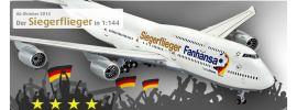 Revell 01111 Boeing 747-8 Fanhansa Siegerflieger Bausatz 1:144 online kaufen