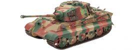 Revell 03249 Tiger II Ausf.B Henschel Turret   Militär Bausatz 1:35 online kaufen