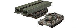 Revell 03307 Leopard 1A5 + Biber | Militär Bausatz 1:72 online kaufen