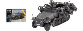 Revell 03324 Sd.Kfz.251/1 Ausf.C mit Wurfrahmen | Militär Bausatz 1:72 online kaufen