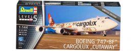 Revell 04949 Boeing 747 8F Cargolux Cutaway | Flugzeug Bausatz 1:144 online kaufen