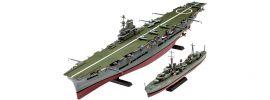 Revell 05149 HMS Ark Royal + Tribal Class Destroyer | Schiff Bausatz 1:720 online kaufen