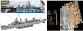 Revell 05150 Fletcher Class Destroyer | Platinum Edition | Schiff Bausatz 1:144 online kaufen