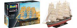 Revell 05159 Krusenstern | Segelschiff Bausatz 1:200 online kaufen