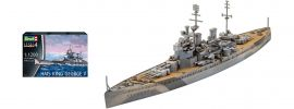 Revell 05161 HMS King George V  | Schiff Bausatz 1:1200 online kaufen