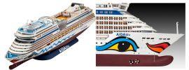 Revell 05230 AIDA Kreuzfahrtschiff | Bausatz | 64 cm Länge | 1:400 online kaufen