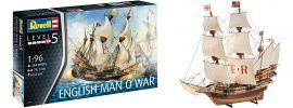Revell 05429 English Man O'War | Schiff Bausatz 1:96 online kaufen