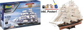 Revell 05430 Geschenk-Set Cutty Sark | 150th Anniversary | Schiff Bausatz 1:220 online kaufen