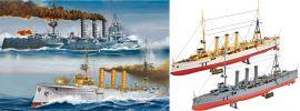 Revell 05500 WWI Cruisers SMS Dresden + Emden (2Stk.) Schiff Bausatz 1:350 online kaufen