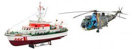 "Revell 05683 DGzRS Berlin Sea King ""Good Bye Set"" |  Bausatz 1:72 online kaufen"