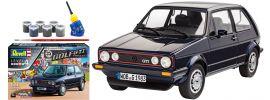 Revell 05694 Model-Set VW Golf 1 GTI Pirelli | Auto Bausatz 1:24 online kaufen