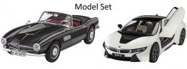 Revell 05738 Geschenkset 100 Jahre BMW Model-Set   Auto Bausätze 1:24 online kaufen