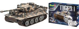 Revell 05790 Geschenkset 75 Jahre Tiger I | Militär Bausatz 1:35 online kaufen