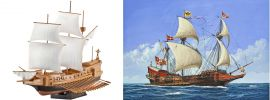 Revell 05899 Spanische Galeone Bausatz 1:450 online kaufen