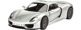 Revell 07026 Porsche 918 Spyder | Auto Bausatz 1:24 online kaufen