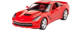 Revell 07060 Corvette Stingray C7 (2014) | Auto Bausatz 1:25 online kaufen
