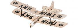Revell 24314 Balsaholzflugzeug Twin Sky | Steckbausatz online kaufen