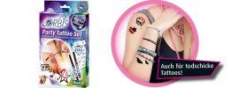 Revell 30304 ORBIS Party Tattoo Set mit 2 Farben | 12 Schablonen online kaufen