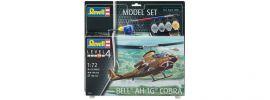 Revell 64956 Bell AH-1G Cobra Model-Set | Hubschrauber Bausatz 1:72 online kaufen