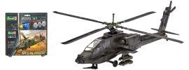 Revell 64985 AH-64A Apache Model Set | Hubschrauber Bausatz 1:100 online kaufen