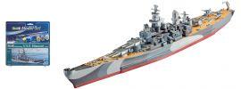 Revell 65128 USS Missouri Model-Set | Schiff Bausatz 1:1200 online kaufen