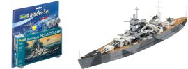 Revell 65136 Model-Set Schlachtschiff Scharnhorst | Schiff Bausatz 1:1200 online kaufen