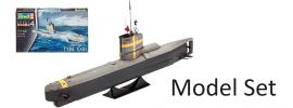 Revell 65140 German Submarine XXIII Model-Set | U-Boot Bausatz 1:144 online kaufen