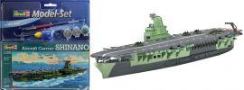 Revell 65816 Model Set Flugzeugtr�ger Shinano Schiff Bausatz 1:1200 online kaufen