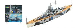 Revell 65822 Schlachtschiff Tirpitz Model-Set | Schiff Bausatz 1:1200 online kaufen