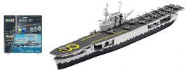 Revell 65823 USS Hornet CV-8 Model-Set | Schiff Bausatz 1:1200 online kaufen