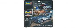Revell 67037 Corvette C1 Roadster Model-Set | Auto Bausatz 1:25 online kaufen
