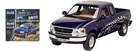 Revell 67045 Ford F-150 XLT 1997 Model-Set | Auto Bausatz 1:25 online kaufen