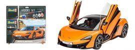 Revell 67051 McLaren 570S Model-Set | Auto Bausatz 1:24 online kaufen