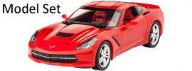 Revell 67060 Model-Set Corvette Stingray C7 (2014) | Auto Bausatz 1:25 online kaufen