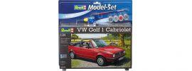 Revell 67071 Model Set VW Golf 1 Cabriolet   Auto Bausatz 1:24 online kaufen
