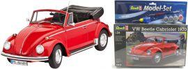 ausverkauft | Revell 67078 Model Set VW Käfer Cabriolet 1970 Auto Bausatz 1:24 online kaufen