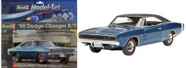 Revell 67188 Model Set Dodge Charger 1968 Auto Bausatz 1:25 online kaufen