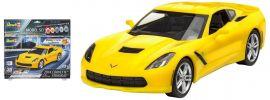 Revell 67449 Corvette Stingray easy-click Model-Set | Auto Bausatz 1:25 online kaufen