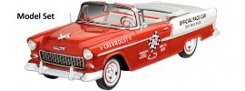 Revell 67686 Chevrolet Bel Air Pace Car Model-Set | Auto Bausatz 1:25 online kaufen