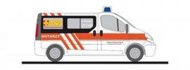 RIETZE 51329 Vivaro NEF ASB Berlin-Süd | Blaulichtmodell 1:87 online kaufen