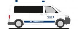 RIETZE 51916 Volkswagen T5 Bus THW Bad Homburg Blaulichtmodell 1:87 online kaufen