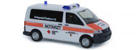 RIETZE 51923 VW T5 Notarzt DRK Lüneburg Blaulichtmodell 1:87 online kaufen